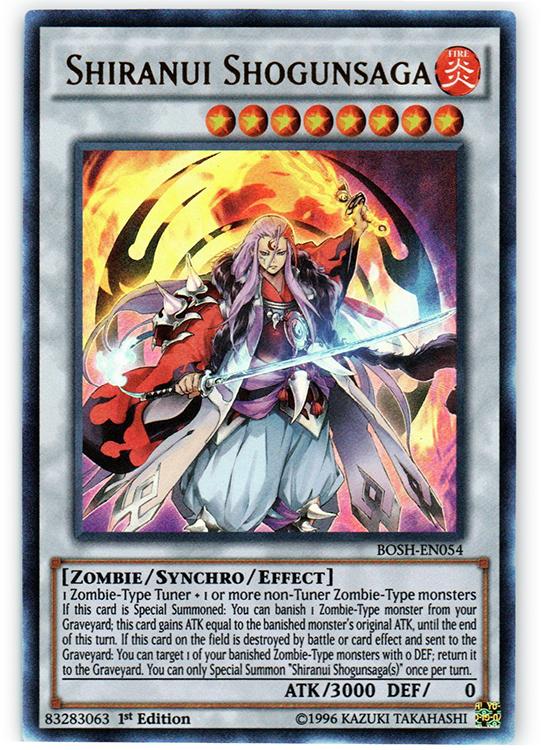 English Rare Goyo King BOSH-EN051 Yugioh Unlimited Edition Near Mint