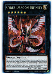 Cyber Dragon Infinity - BOSH-EN094 - Secret Rare - 1st Edition on Channel Fireball