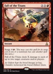 Fall of the Titans - Foil (OGW)