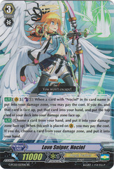 Love Sniper, Nociel - G-FC02/027EN - RR on Channel Fireball