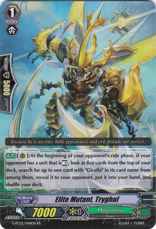 Elite Mutant, Tryghul - G-FC02/046EN - RR