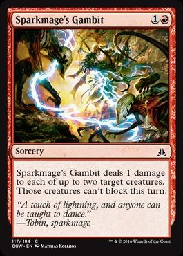 Sparkmages Gambit - Foil