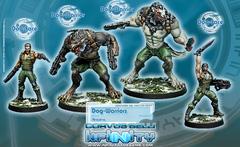(0169) Dog-Warriors (4) BOX  (280169-0497)