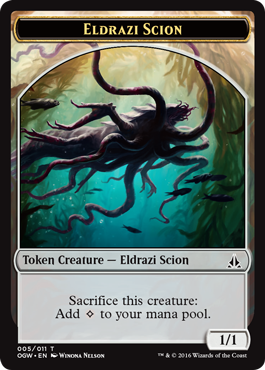 Eldrazi Scion Token (005)