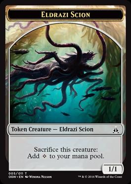 Eldrazi Scion Token (005)