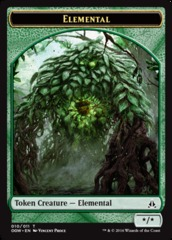 Elemental Token (Green)