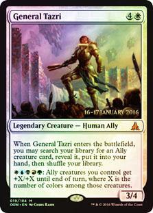 General Tazri - Foil - Prerelease Promo