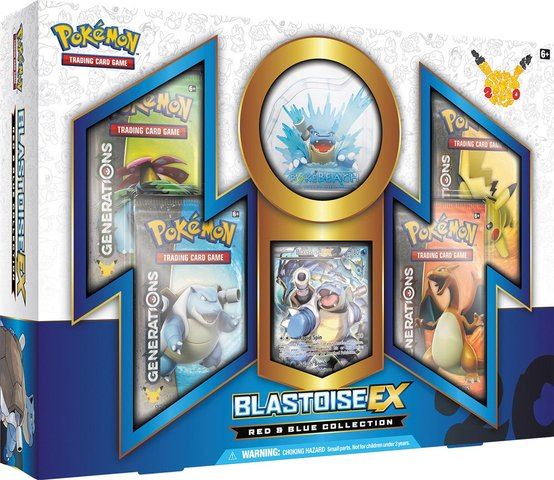 Red And Blue Collection: Blastoise-EX Box
