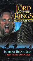 Lord of The Rings Battle of Helms Deep Cards Booster Pack