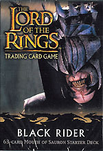 Lord Of The Rings Cards Black Rider Mouth of Sauron Starter Deck