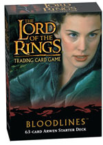 Lord of the Rings Cards Bloodlines Arwen Starter Deck
