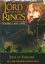 Ents of Fangorn Lord of the Rings Cards Faramir Starter Deck