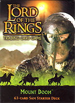 Lord Of The Rings Card Game Mount Doom Sam Starter Deck