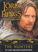 Lord of the Rings CCG The Hunters Aragorn Starter Deck