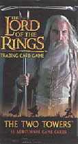 The Lord of the Rings Two Towers Card Game Booster Pack