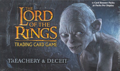 Lord of the Rings Trading Card Game TCG: Treachery & Deceit Booster Box