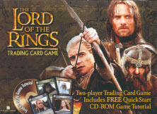 Lord of the Rings Cards Two Player Starter Set