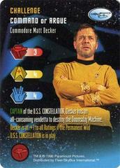 Commodore Matt Decker