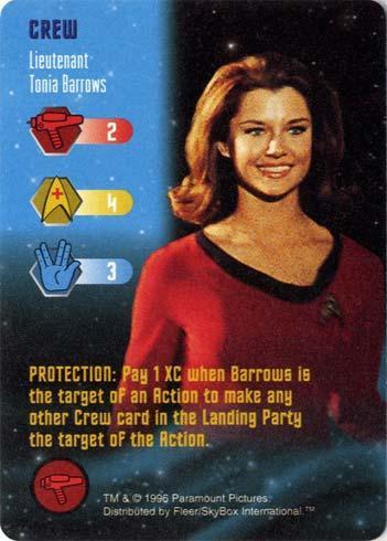 Lieutenant Tonia Barrows