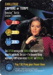 Romulan Battle Cruiser Commander