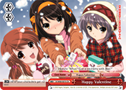 Happy Valentine - SY/W08-E073 - CR