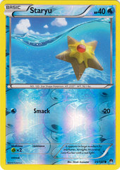 Staryu - 25/122 - Common - Reverse Holo