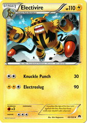 Electivire - 43/122 - Uncommon on Channel Fireball