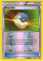 Great Ball - 100/122 - Uncommon - Reverse Holo