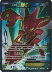 Scizor-EX - 119/122 - Full Art Ultra Rare