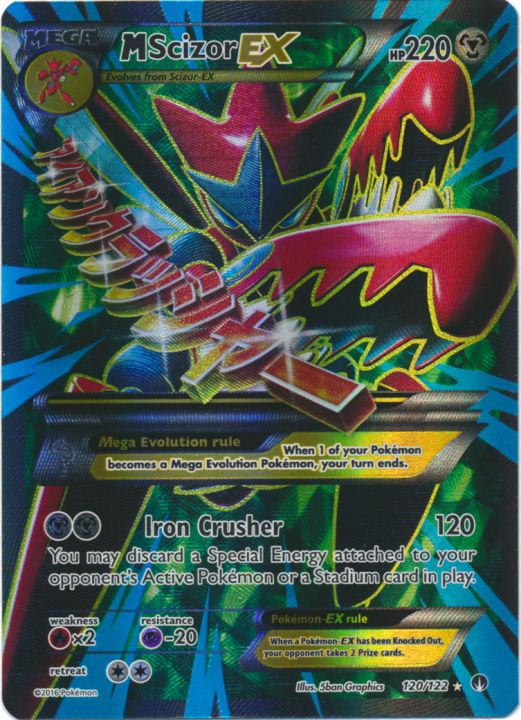 Pokemon XY Breakpoint Card Selection: Common Rares Rev Holo //122 Uncommon