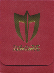 Max Protection Red Deck Box