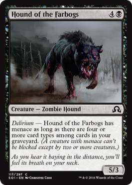 Hound of the Farbogs - Foil
