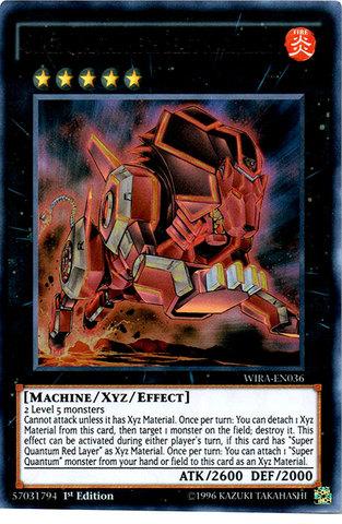 Super Quantal Mech Beast Magnaliger - WIRA-EN036 - Ultra Rare - 1st Edition