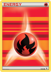 Fire Energy - 76/83 - Common on Channel Fireball