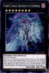 Number 23: Lancelot, Dark Knight of the Underworld - BOSH-ENSE2 - Super Rare - Limited Edition