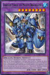 Dinoster Power, the Mighty Dracoslayer - BOSH-EN046 - Rare - Unlimited Edition