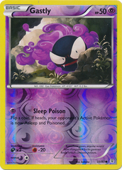 Gastly - 33/83 - Common - Reverse Holo