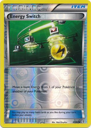 Energy Switch - 61/83 - Uncommon - Reverse Holo