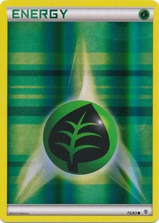 Grass Energy - 75/83 - Common - Reverse Holo