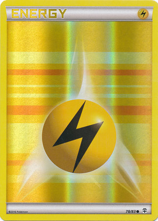 Lightning Energy - 78/83 - Common - Reverse Holo