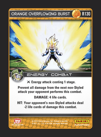 1 Cell/'s Style Foil Perfection DBZ Panini Near Mint