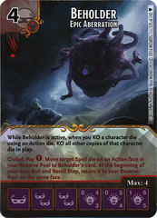 Beholder - Epic Aberration (Die & Card Combo)