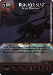 Displacer Beast - Lesser Monstrosity (Die & Card Combo)