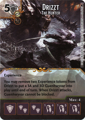 Drizzt - The Hunter (Die & Card Combo)