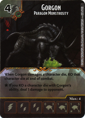 Gorgon - Paragon Monstrosity (Die & Card Combo)