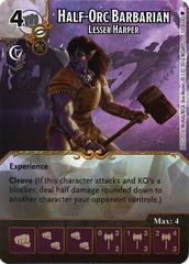 Half-Orc Barbarian - Lesser Harper (Die & Card Combo)