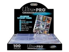 Ultra Pro Hologram 100ct 9-Pocket Pages