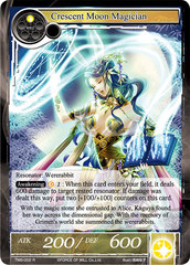 Crescent Moon Magician - TMS-002 - R - Full Art on Channel Fireball