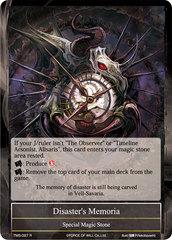 Disaster's Memoria - TMS-097 - R - Foil