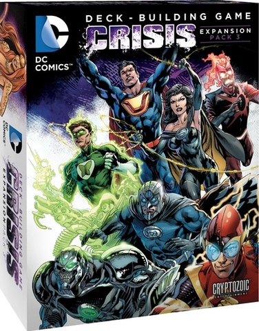 DC Comics Deck-Building Game: Crisis Expansion (Pack 3)